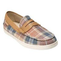 Men's Cole Haan Pinch Weekender Loafer Sunbleached Plaid/Iced Coffee Textile