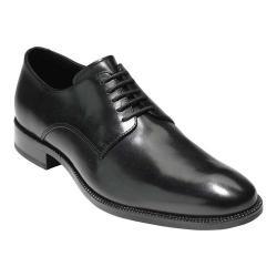 Men's Cole Haan Williams Postman II Plain Toe Derby Black Leather