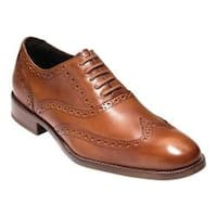 Men's Cole Haan Williams Wing II Oxford British Tan Leather