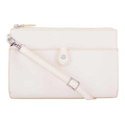 f22da9aae Shop Women's Lodis Audrey RFID Vicky Convertible Crossbody Clutch  Cream/Natural - Free Shipping Today - Overstock.com - 21211317