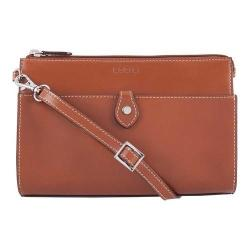 Women's Lodis Audrey RFID Vicky Convertible Crossbody Clutch Sequoia/Papaya
