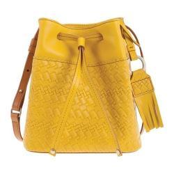 Women's Lodis Rodeo Woven RFID Blake Small Drawstring Yellow