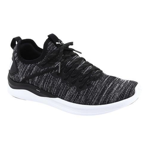 264c4e546e3b Shop Men s PUMA IGNITE Flash evoKNIT Sneaker PUMA Black Asphalt PUMA White  - On Sale - Free Shipping Today - Overstock - 21225084