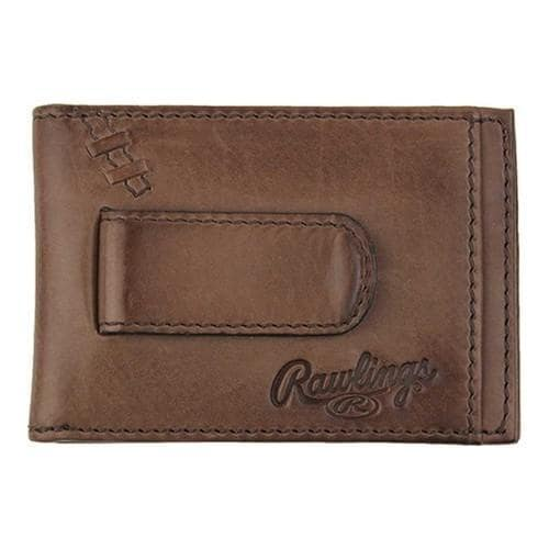 Shop Men s Rawlings Legacy Front Pocket Wallet Brown - Free Shipping Today  - Overstock.com - 21225109 f034cfefb830d