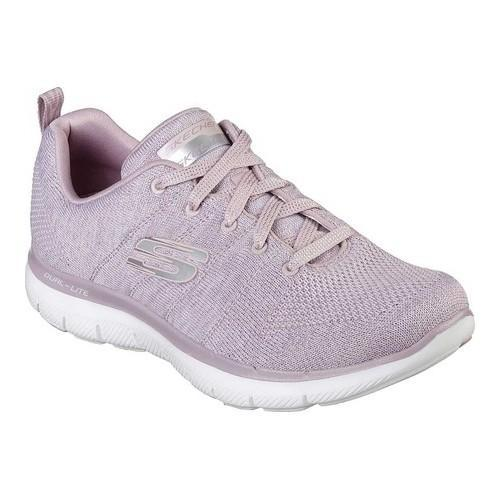 2ecbc5688ebe Shop Women s Skechers Flex Appeal 2.0 High Energy Training Shoe Lilac -  Free Shipping Today - Overstock - 21225164