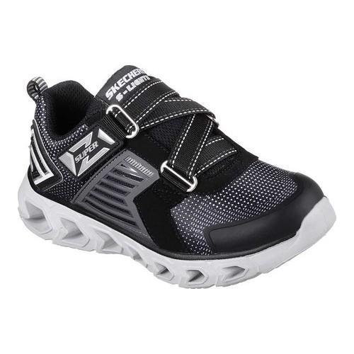 f7c6bdd9fc4be Boys' Skechers S Lights Hypno-Flash 2.0 Rapid Quake Z Strap Shoe