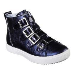 Girls' Skechers Shoutouts 2.0 Metallic Magic High Top Sneaker Navy