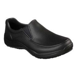 Men's Skechers Work Brushten Slip Resistant Shoe Black