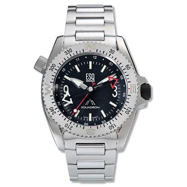 ESQ Squadron Men's Stainless Steel Watch - Thumbnail 1