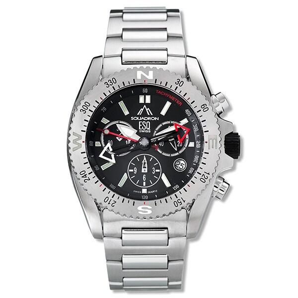 ESQ Squadron Stainless Steel Men's Quartz Watch