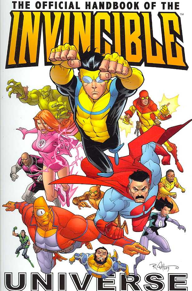 The Official Handbook of the Invincible Universe (Paperback)