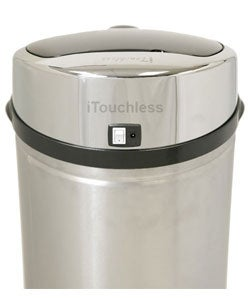 iTouchless NX 8-gallon Automatic Stainless Steel Trash Can - Thumbnail 1