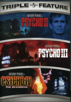 Psycho II/Psycho III/Psycho IV: The Beginning (DVD)
