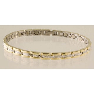 Sabona Lady Executive Regal Duet Magnetic Bracelet (Option: Small)
