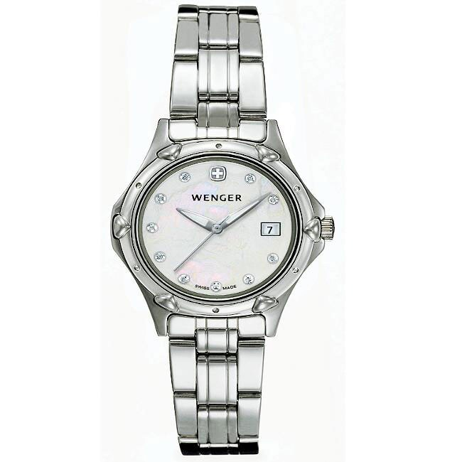 Wenger Standard Issue Women's Stainless-Steel Swiss Military Watch