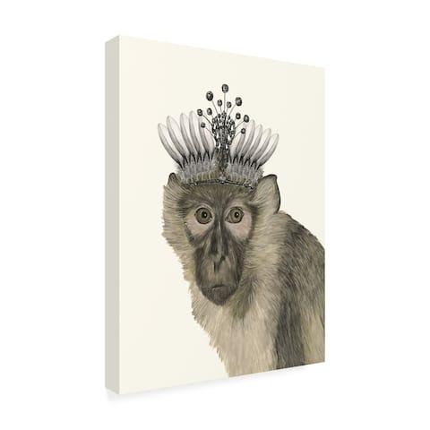 Melissa Wang 'Majestic Monkey I' Canvas Art