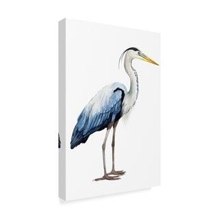 Grace Popp 'Seabird Heron Ii' Canvas Art