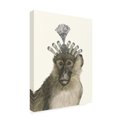 Melissa Wang 'Majestic Monkey Ii' Canvas Art