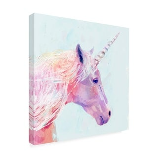 Victoria Borges 'Mystic Unicorn I' Canvas Art