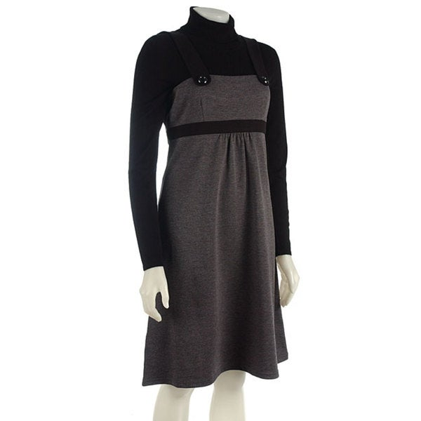 9dfb1590af2 Shop Spense Jumper and Turtleneck Sweater Dress Set - Free Shipping ...