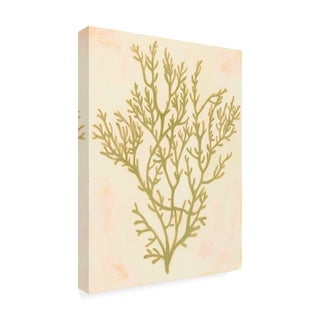 Grace Popp 'Deep Sea Coral I' Canvas Art