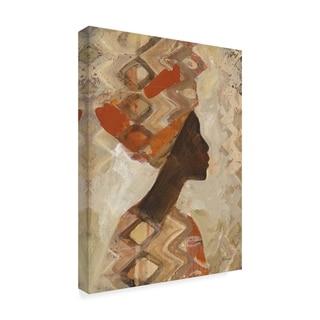 Albena Hristova 'African Beauty I' Canvas Art