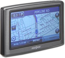 Insignia NS-NAV01 4.3-inch Widescreen Portable GPS (Refurbished)