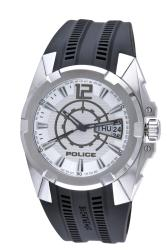 Thumbnail 2, Police Men's Radical Silver Dial Watch. Changes active main hero.