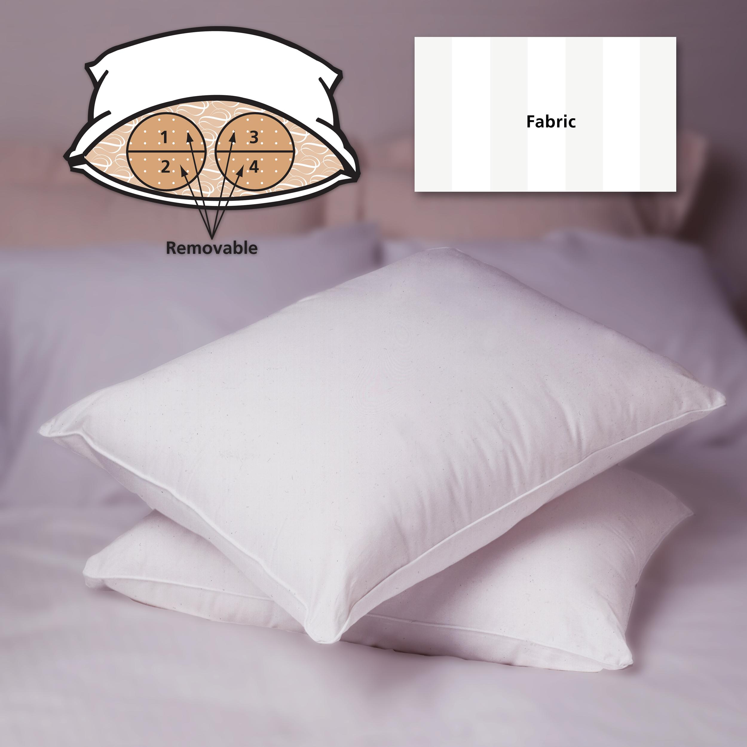 Supima Cotton 400 Thread Count Down Alternative Pillow (set of 2)