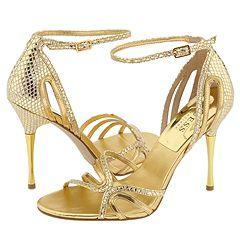 GUESS by Marciano Okanarra Gold Metallic Sandals - - Size 11 M