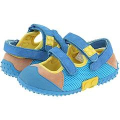 Lego Kids Pepe (Infant/Toddler) Blue/Yellow Sandals