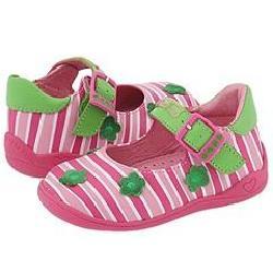 Agatha Ruiz De La Prada Kids 081206 (Infant/Toddler) Pink/Green