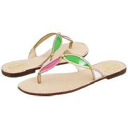 Shop Lilly Pulitzer Colorful Life Sandal Multi Sandals