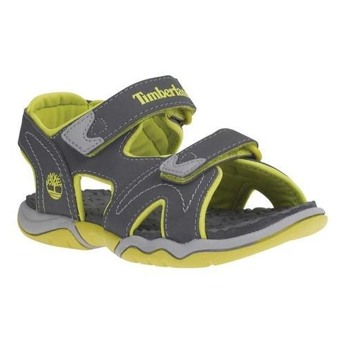 Timberland Adventure Seeker 2-Strap Sandal Junior(Children's) -Blackout Synthetic Excellent Cheap Online 9QxyJ