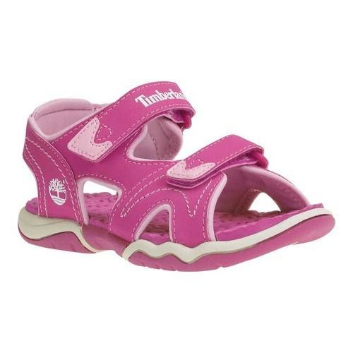 1725e82f4614 Shop Children s Timberland Adventure Seeker 2-Strap Sandal Youth Pink  Synthetic - Free Shipping On Orders Over  45 - Overstock.com - 21267158
