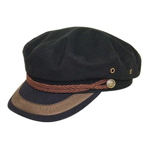 d6babb833e6a7 Shop Peter Grimm Jope Newsboy Cap Black - Free Shipping On Orders Over  45  - Overstock - 21287859
