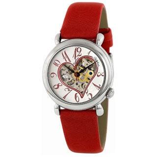 Stuhrling Original Women's Cupid II Open Heart Watch