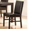Cappuccino Parsons Chairs (Set of 2)