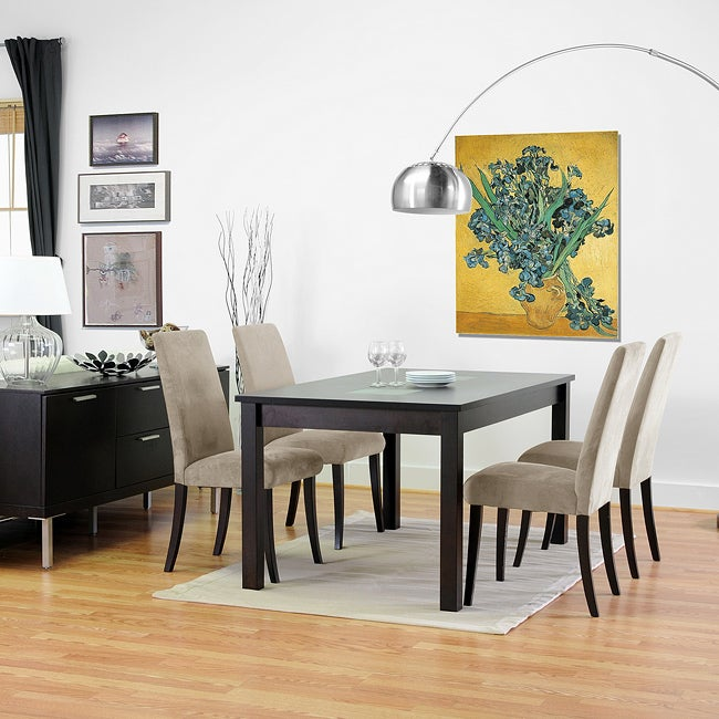 Shop Zen Wenge Dining Chairs Set Of 2 Free Shipping