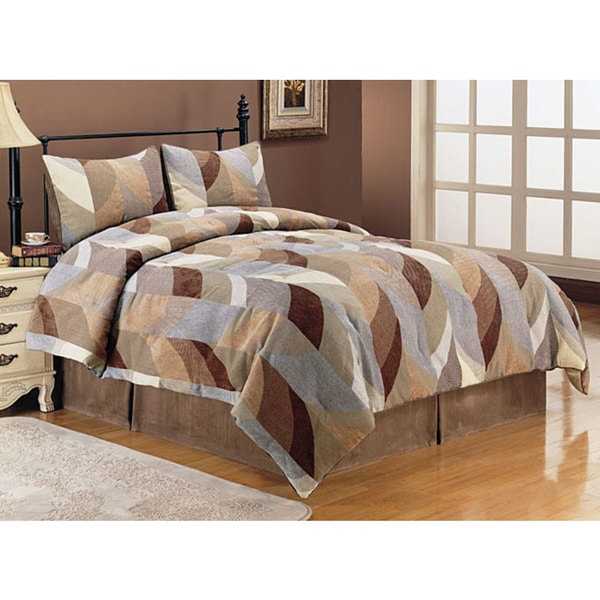 Caboose 4-piece Luxury Comforter Set