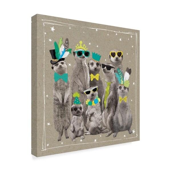 89df9f2141538 Hammond Gower 'Fancy Pants Zoo I' Canvas Art