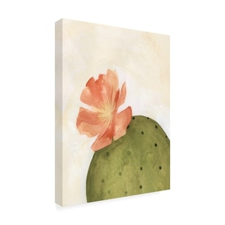 Emma Scarvey 'Arid Bloom I' Canvas Art