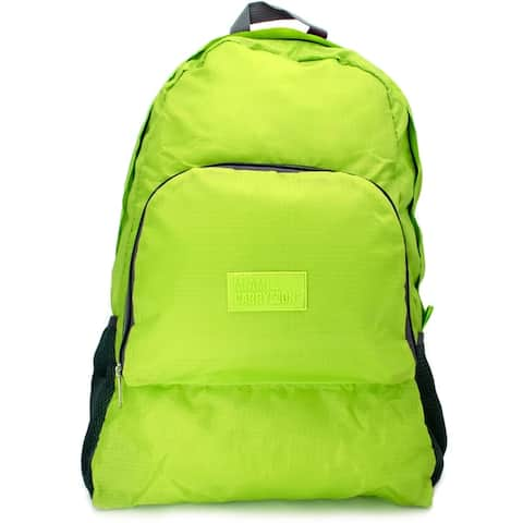 2f01bcd101c Miami CarryOn Travel Foldable Backpack / Daypack, Folds to 9 x 7 x 1.5