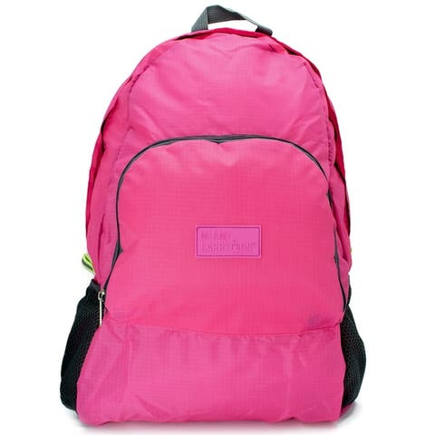 03744d25d82fb4 Miami CarryOn Travel Foldable Backpack   Daypack