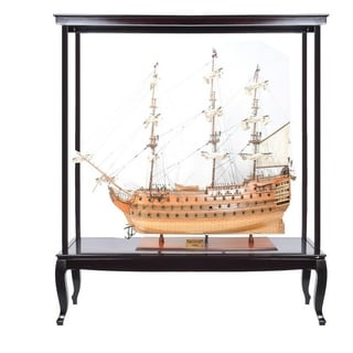 "HMS Victory 56"" XL With Display Case XL No Glass"