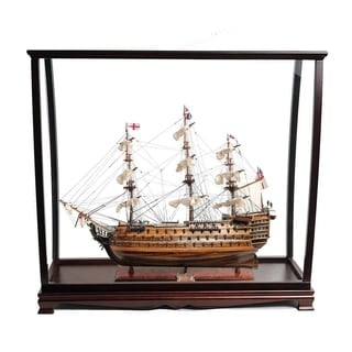 HMS Victory Large With Table Top Display Case
