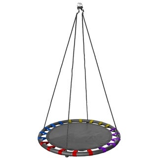 Fabric Spinner Swing 40 Inches, Multi-Colored