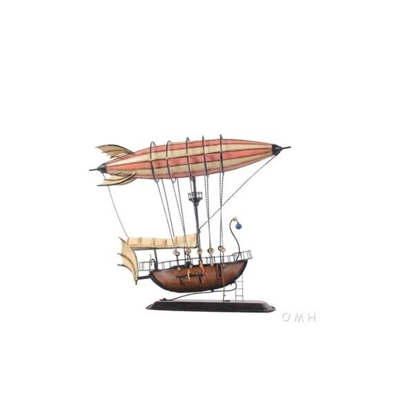 Steampunk Airship Model