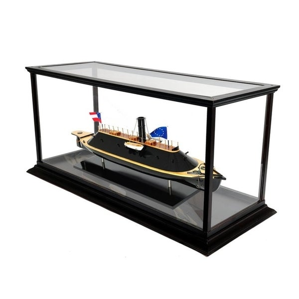 CSS Virginia with Display Case