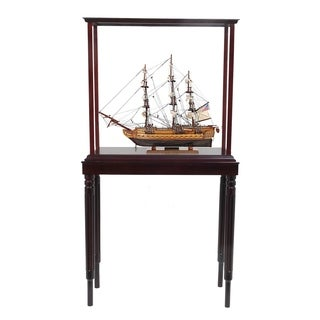 USS Constitution Small with Display Case